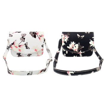 Fashion Floral Print Women Bag PU Leather Handbag Crossbody Bags for Women Messenger Bags Sling Shoulder 1