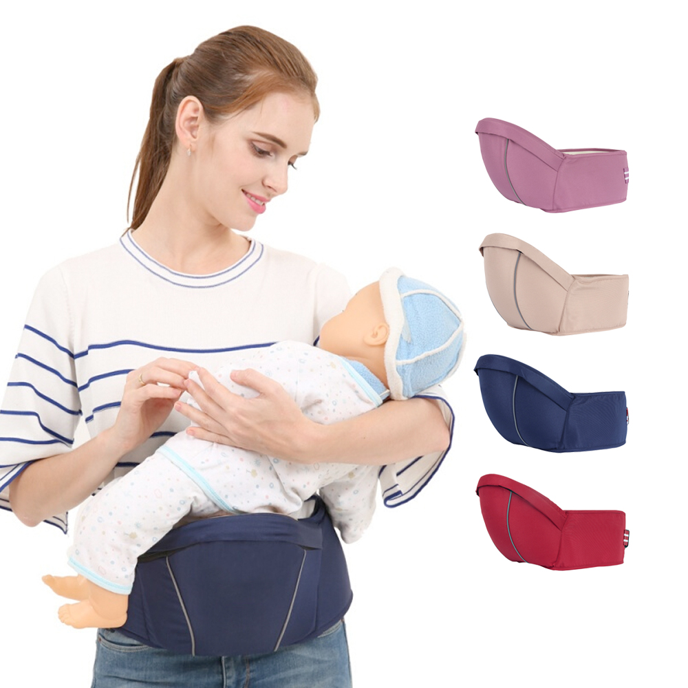 Ergonomic Baby Hipseat Kangaroo Baby Carrier Portable Toddler Front Holder Wrap Belt  Infant Walker Waist Stool Kids Hip Seat