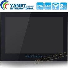 Nuevo 2014 Envío Libre 1080 P Full HD de 27 pulgadas WiFi Andriod Inteligente de baño Impermeable TV