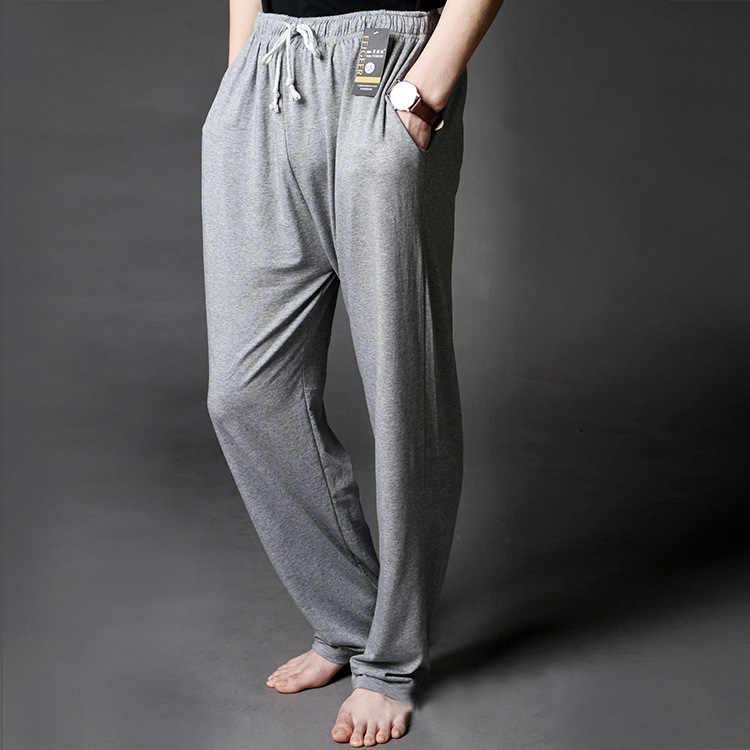 Men's Lounge Pants Soft Modal Thin Sleep Bottoms