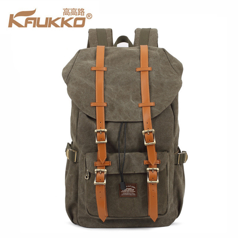 Kaukko Canvas Backpacks Men Travel Mochila School Backpack Skull Skateboard Skate Bolso Male Sac Bag Youth Laptop Bags #1
