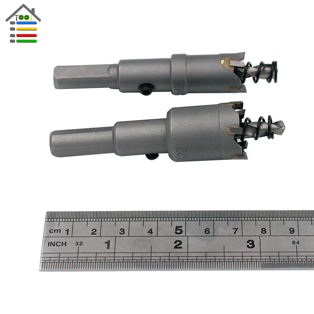 16 mm Tungsten Carbide tipped HoleSaw Cutter Metal