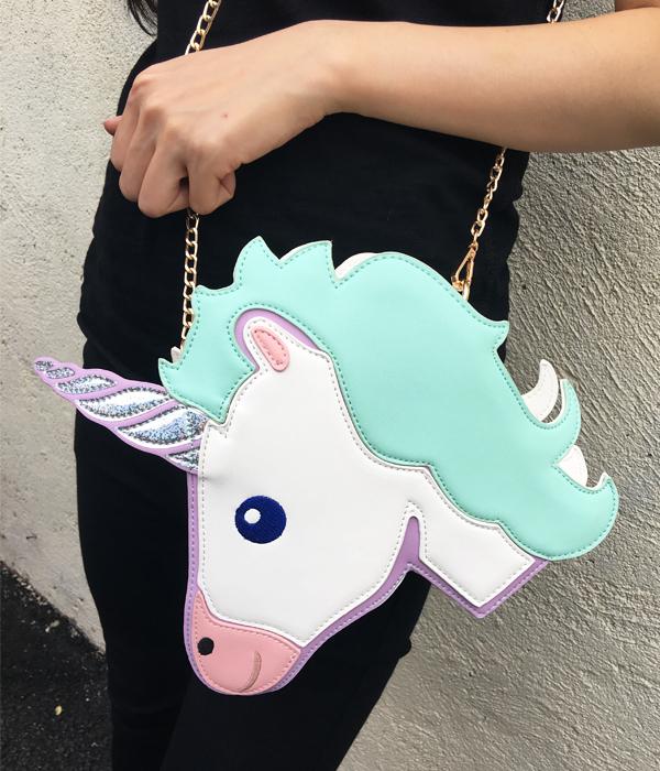 HTB1PB5oRXXXXXaFapXXq6xXFXXXT - Unicorn Handbag women Shoulder Bag Cute