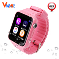 GPS smart watch kids waterproof watch V7K with camera/facebook SOS Call Location Devicer Tracker Anti-Lost Monitor PK Q50 Q750