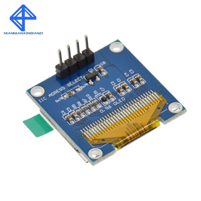 """White color 128X64 OLED LCD LED Display Module For Arduino 0.96"""" I2C IIC SPI Serial new original 2"""