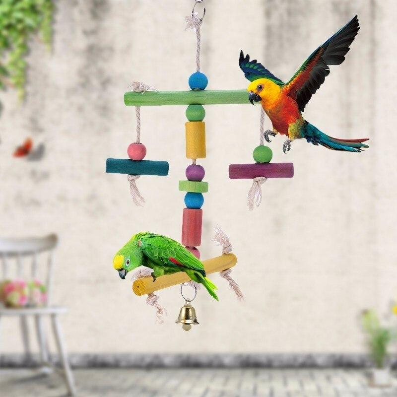 앵무새 매일 필수품 - 역 선반 장난감을 g아 먹는 장난감 - 장식적인 birdcage, 아름답고, 나르 게 쉬운, 튼튼하고, 유독 한 자유롭고, 안전한