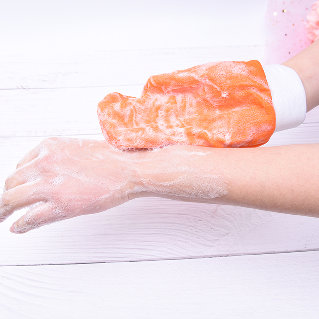 1X Hammam Shower Thicken Bath Magic Peeling Glove Exfoliating Tan Removal Kessa Bathing Cleaning Products 4