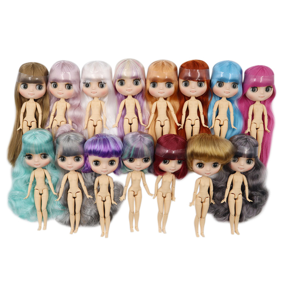 middie blyth doll nude 20cm 1 8 bjd doll joint body matte face factory doll Suitable