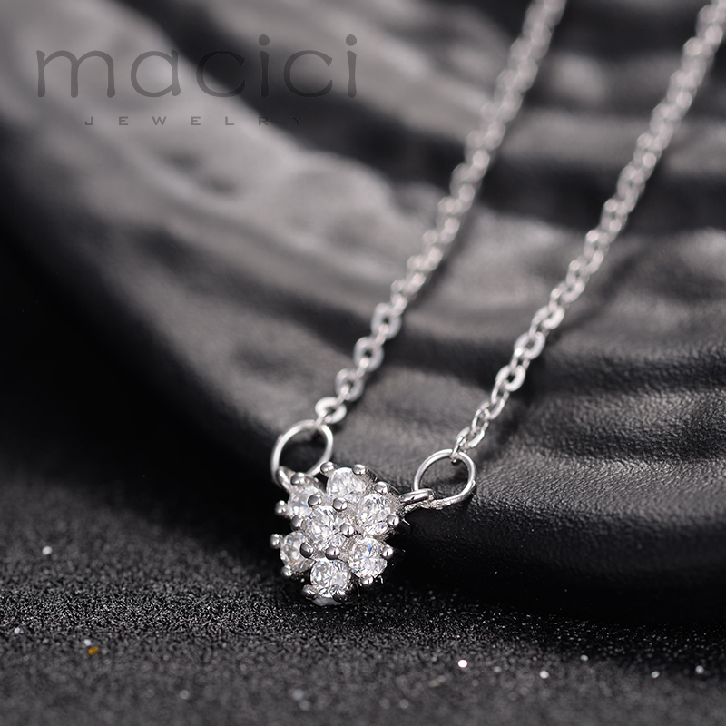 Best Snowflake Wedding Jewelry Earrings Necklace Bracelet Flower
