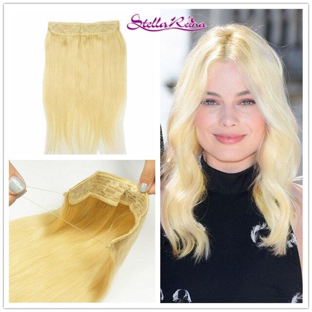 Stella Reina Halo Crown Flip In Hair Extension 613 Beach Blonde
