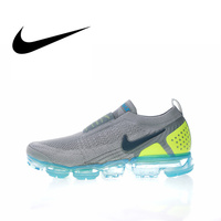 Original Authentic NIKE AIR VAPORMAX FK MOC 2 Mens Running Shoes Sneakers Sport Outdoor Athletic Designer Footwear 2018 New