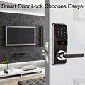 Eseye умный замок биометрический дверной замок отпечатков пальцев интеллектуальный электронный дверной замок умный безопасный пароль отпеч...