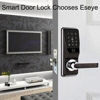 Eseye Smart Lock биометрический замок интеллектуальные электронные дверные замки смарт сейф отпечатков пальцев пароль и RFID разблокировать