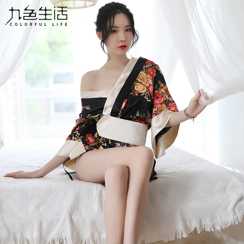 New Sexy Hot Erotic Women Japanese Kimono Sexy Clothes For Sex Romantic Nightgowns Sexy Costumes Women Cosplay NY0318