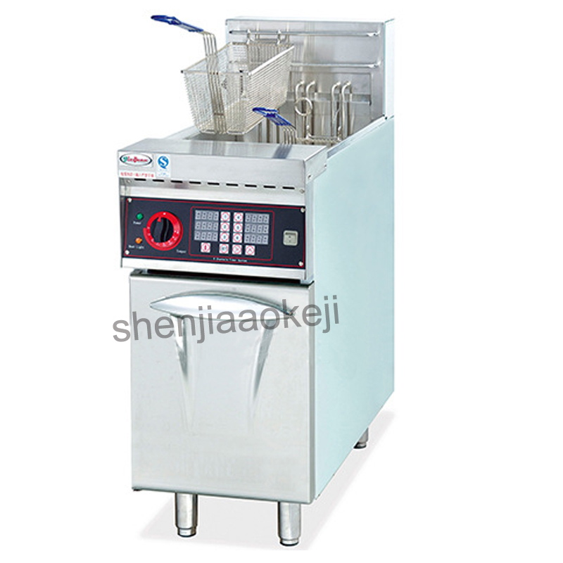 Stainless Steel DF-26A Electric Fryer with Timer,Western-style Restaurant Equipment Commercial French fries fried chicken fryer пуф french fries