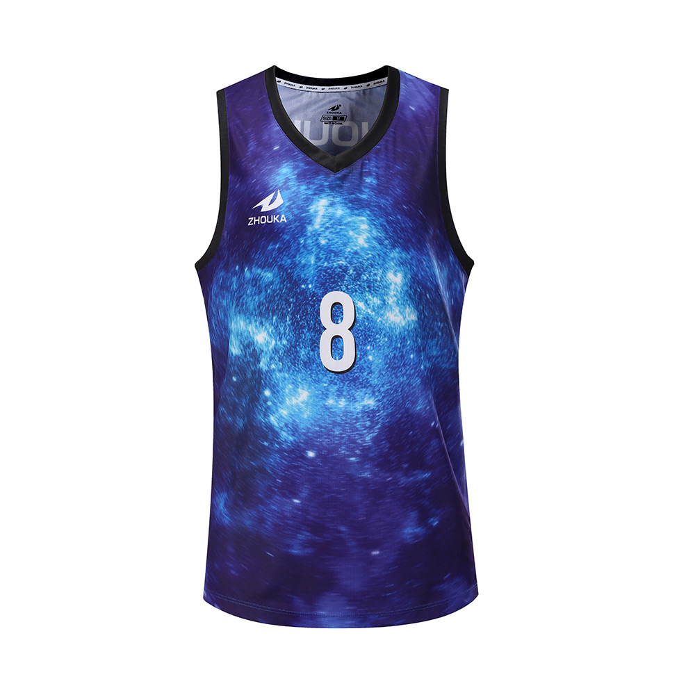 Custom popular design Kids basketball jersey Reversible basketball uniform
