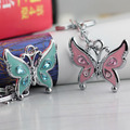 butterfly keychain minion keyring christmas gift high quality chaveiro feminino key finder creative portachiavi free shipping