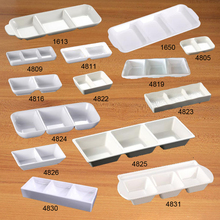 Free shipping. A5 Melamine tableware. Melamine dish. This paragraph is double lattice taste dish.  Eco friendly tableware high quality 70mm ptfe teflon petri dish with cover f4 culture dish chemical experiment equipment free shipping