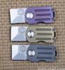 IKIV Mini Folding Knife M390 Blade Titanium Alloy Handle Pocket Knives Tactical Survival Camping Hunting Key