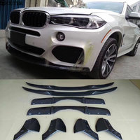 F15 X5 Carbon Fiber front lip rear diffuser Rear Bumper Aprons Side Splitter for BMW F15 X5 M PERFORMANCE Bumper 2014 2015