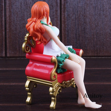 One Piece Sexy Nami Figure Sitting Sofa 15cm