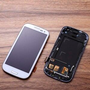Image 5 - I9300 LCD Per SAMSUNG Galaxy S3 i9300i Display Dello Schermo con Cornice di Ricambio Per SAMSUNG Galaxy S3 LCD i9301 i9308i i9301i