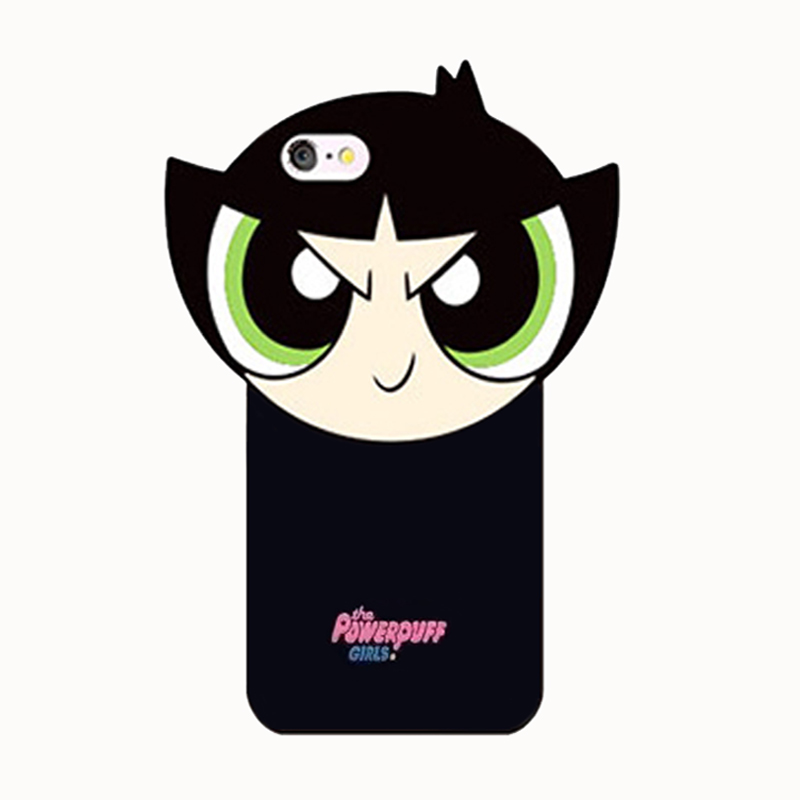 2017 Fashion 3D cute cartoon sexy lips smile phiz girl <font><b>love</b></font> powerpuff girls <font><b>joy</b></font> <font><b>doll</b></font> soft silicone cell phones case For Iphone