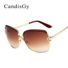Grande de la manera gafas de Sol Fotocromáticos Mujeres Desinger de la Marca de Marco de Metal de la Señora Femenina Elegante Shades Gafas de Sol gafas de sol
