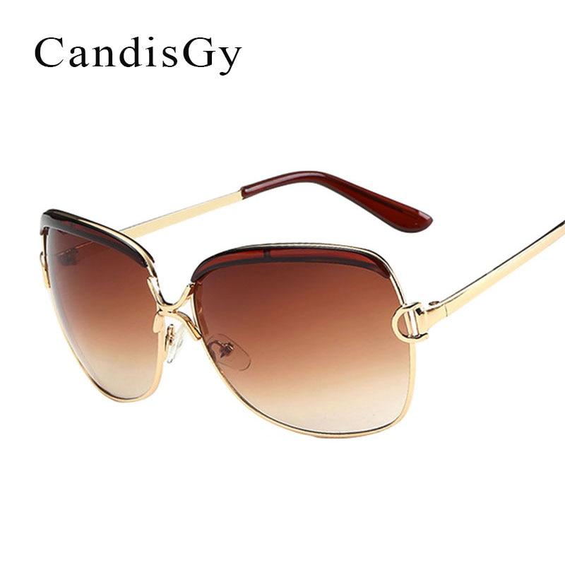 ᗖModa grande photochromic Gafas de sol mujeres desinger metal ...