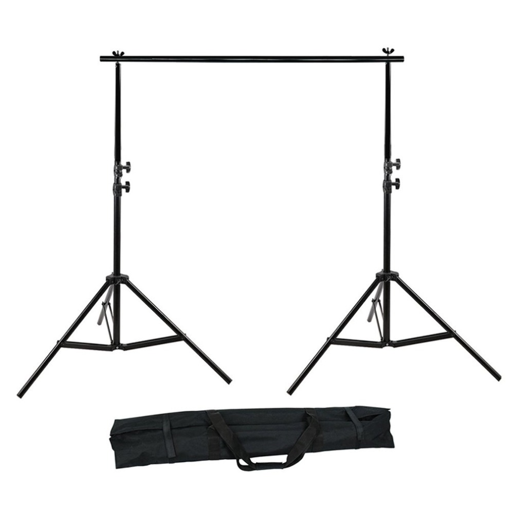 цена на 3x6m Photo Backdrops softbox White Screen Photo Studio Continuous Light Kit photography Background Stand drop shipping
