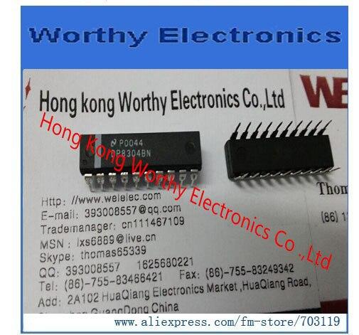 Free shipping 10pcs lot DP8304BN DP8304B DP8304 8304 DIP20