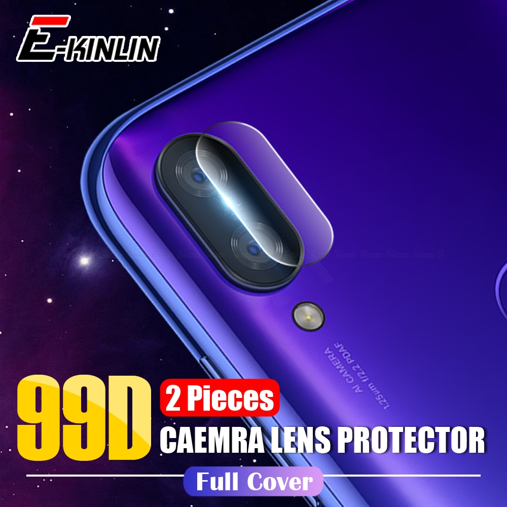 Back Camera Lens Protector Protective Film For XiaoMi Mi 9T 9 SE 8 A2 Lite Max 3 Mix 2S Redmi Note 5 7 6A 6 Pro Tempered Glass titanium ring
