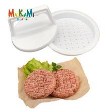 MAIKAIMI 1 Набор DIY пресс-инструмент для мяса для гамбургеров Патти мейкер для бургеров из мяса плесень пищевого качества пластик гамбургер пресс бургер мейкер