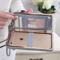 Luxury Women Wallet Phone Bag Leather Case For IPhone 7 6 6s Plus Samsung Galaxy S8