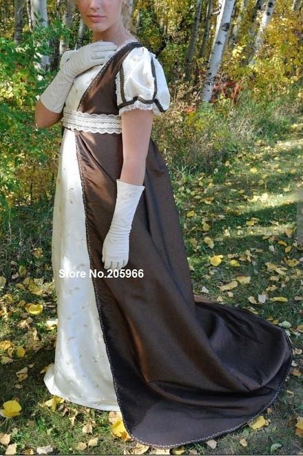 e9251ba974 CUSTOM Made Empress Josephine Regency Empire Vintage Ball gown dress ...