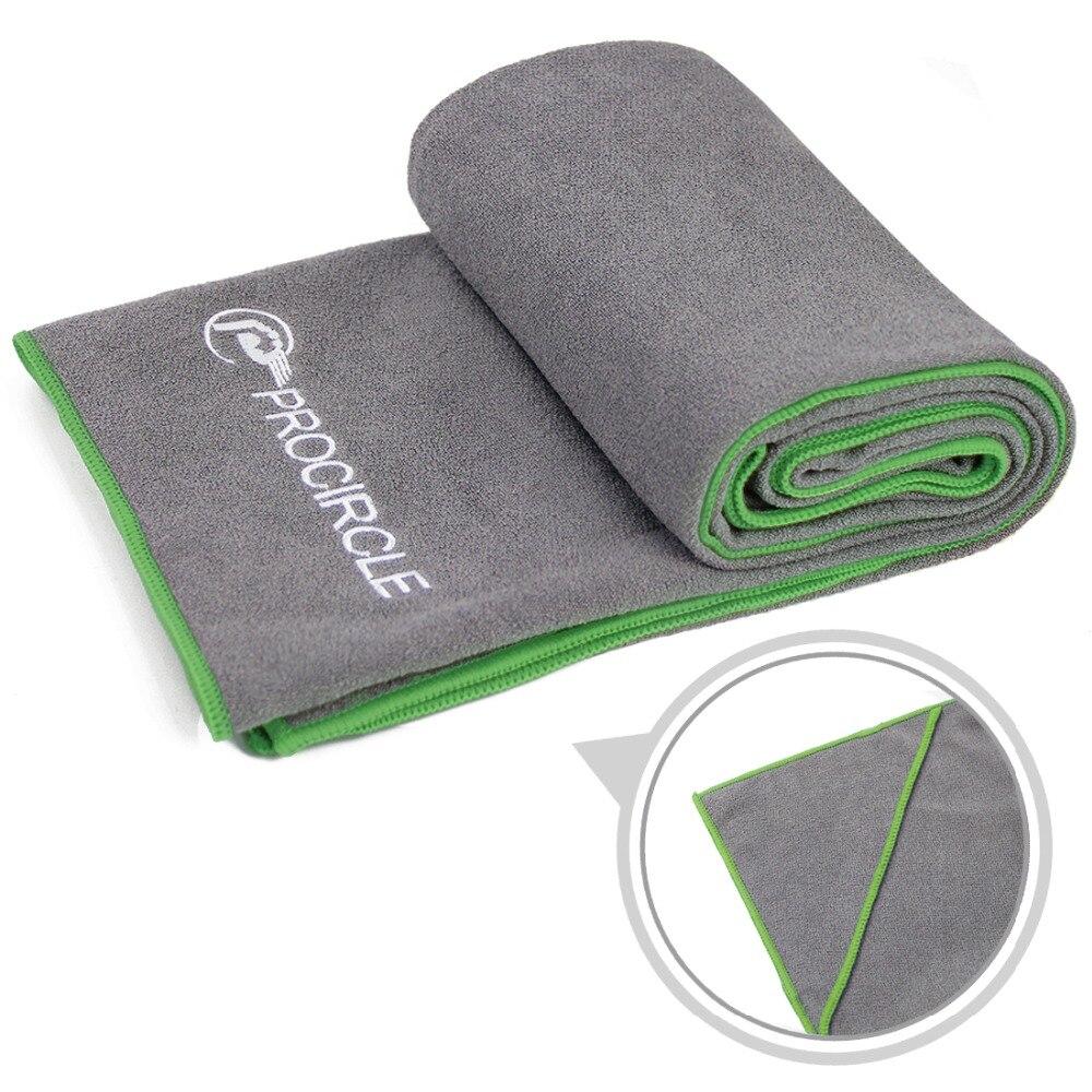 72''X24'' Non Slip Yoga Mat Cover Towel Blanket Sport Fitness Exercise Pilates Workout HOT With Free Carry Bag ksua 5mm linen yoga mat high quality fitness professional slip resistant yoga mats exercise sports mat