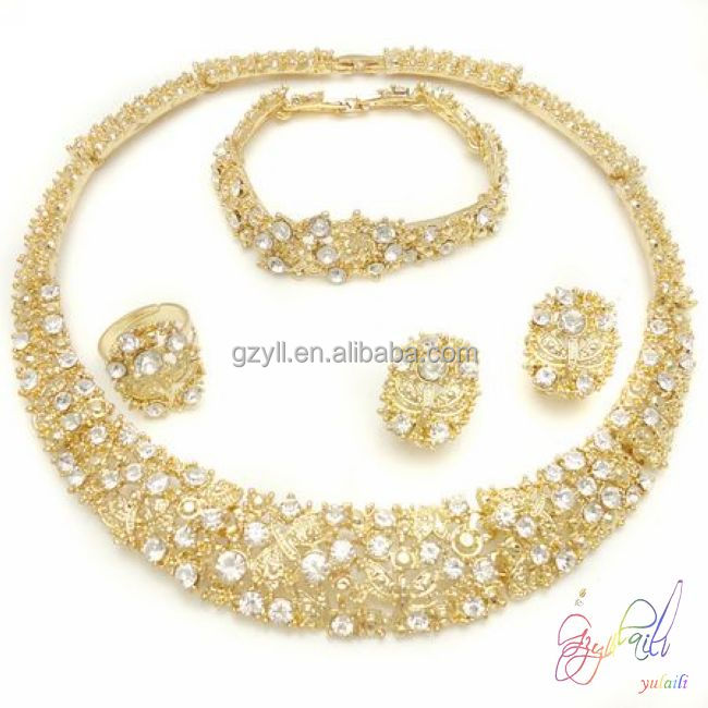 Free shipping fancy gold plated indian jewelry turkish gold
