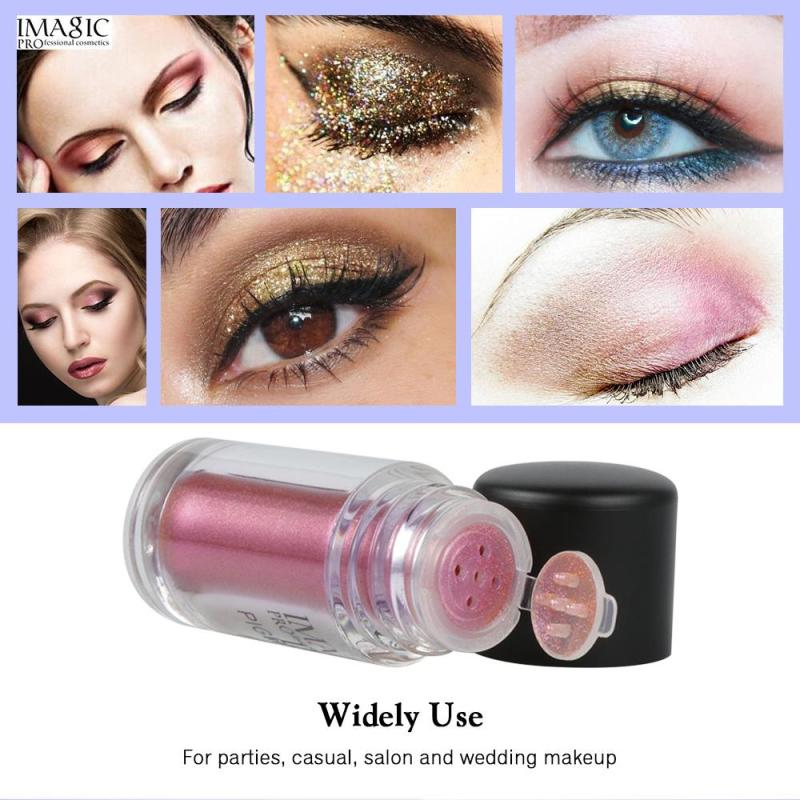 Radient Imagic 9 Colors New Loose Pigment Glitter Shimmer Makeup Metallic Glitters Powder Diamond Loose Eyes Body Maquiagem Makeup