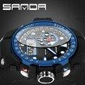 Новые мужские Кварцевые Цифровые Часы Мужчины Спортивные Часы Relógio Masculino SANDA Relojes LED Военная Водонепроницаемые Наручные Часы 2016