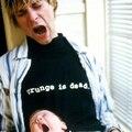 Nova t-shirt Nirvana Kurt Cobain hiphop homens t-shirt de algodão de verão solta de manga curta t-shirt tops