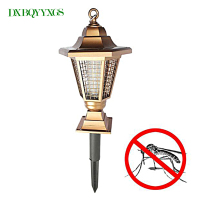 DXBQYYXGS Garden Solar Anti Mosquito Lamp Outdoor Mosquito Killer Lamp Lawn Insect Repeller Insecticidal Repellent Electronics