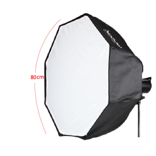 80cm Godox Photo Octagon Umbrella Softbox Bowens Mount holder For Studio Flash godox ubw 120cm softbox professional portable octagonal umbrella softbox with bowens mount for speedlite flash