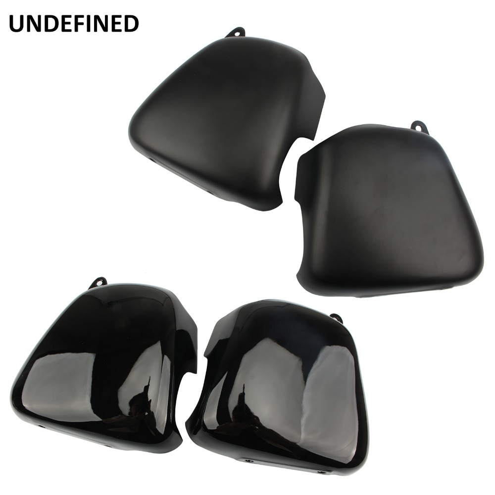 Black Motorcycle Battery Cover Left Right Side Fairing Battery Covers for Triumph Bonneville T100 SE Thruxton 900 Scrambler Moto image