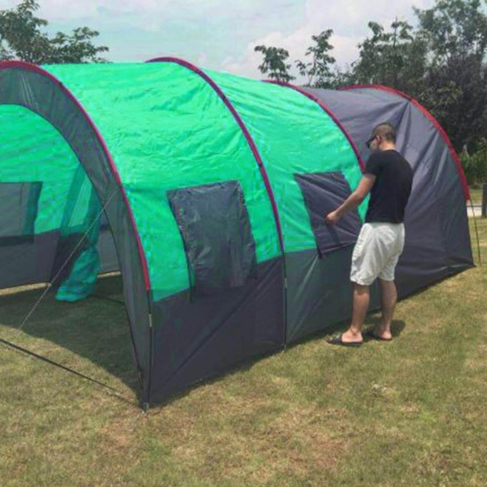 New Waterproof 8 10 Person Outdoor Camping Tent Double ...