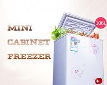 106L Casa Frigobar Com Grande Capacidade de Poupança de Energia De Baixo Ruído Cold & Congelamento Geladeira BD/BC-106E