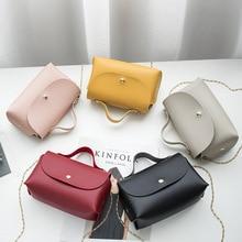 Female Casual Handbag Rectangle Shape Mini Portable Single-Shoulder Bag Phone Coin Purse Women Ladies Crossbody