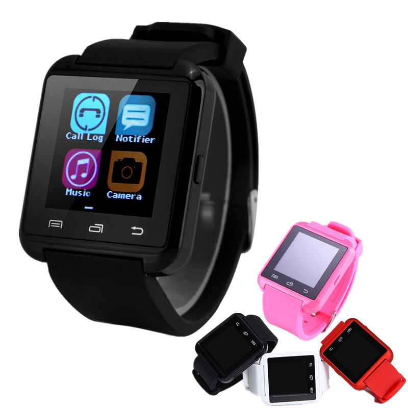 2016 Bluetooth Smart Watch A8 A font b SmartWatch b font Plus Wrist Watches Phone MTK