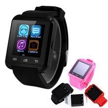 2016 Bluetooth Smart Uhr A8 Eine SmartWatch Plus Armbanduhren Telefon MTK Für IPhone 5 S/6 Samsung S4/Anmerkung 3 HTC Xiao MI Android U9