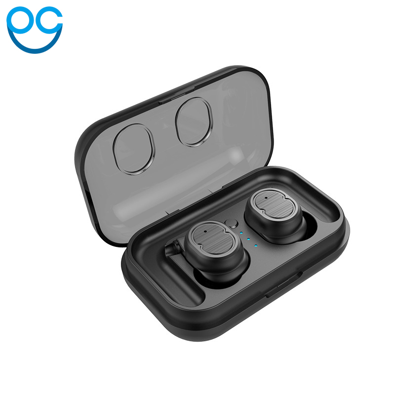 OGV Bluetooth Touch Control Hifi Earphone with Mic TWS Wireless Earbuds Stereo Microphone for Phone xiaomi With Charger Box hevaral tws true wireless bluetooth earphone touch control in ear stereo hifi earbuds headset with mic for iphone for xiaomi