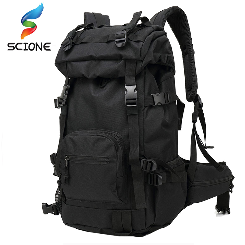2017 Hot 40L Outdoor Tactical Backpack Backpacks Travel Climbing Bags Outdoor Sport Hiking Camping Army Bag Military Male DS01 professional climbing outdoor sport waterproof bags backpacks camping hiking traveling mountain bags backpacks 45l hot sale